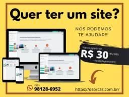 Precisa de um Site? Nós criamos para você!!!