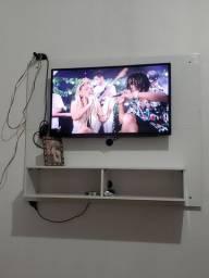 "Smartv AOC 32"" com wi-fi + Painel Branco"