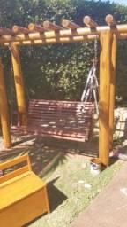 Acabamento em madeiras