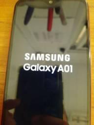 Celular Samsung A01 zerado (aceito cartão)