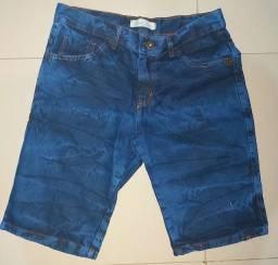Vendo bermudas jeans Elastano novas