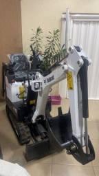 Mini escavadeira Bobcat E10 21/21 (NOVA)