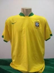 Camisa da Seleção do Brasil 2006 Nike