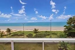 Título do anúncio: Excelente apartamento mobiliado, com área privativa, à beira mar em Cabo Branco