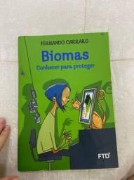 Livro biomas-conhecer para proteger