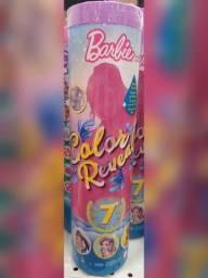 Boneca barbie color reveal - novo