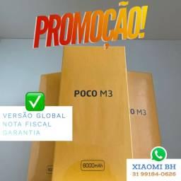 A MENOR TAXA do MERCADO! POCO M3 64GB / Novo Lacrado Garantia / GLOBAL
