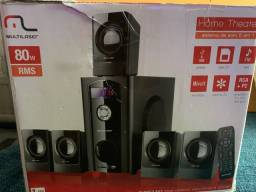 Home theatter Multilaser  80 W