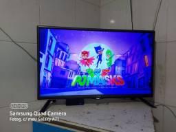 Tv 32 Pol led LG e aparelho que deixa smart wi-fi