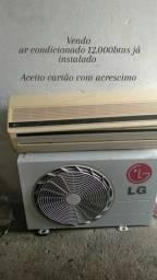 Vendo ar condicionado 12.000btus 700.00