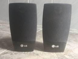 Par de caixas LG Originais