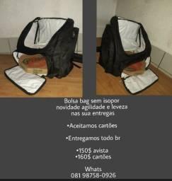 Venha adquirir sua Bag sem isopor