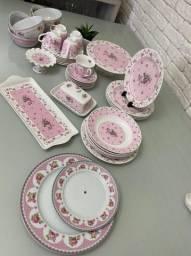 Jogo de porcelana - 43 peças