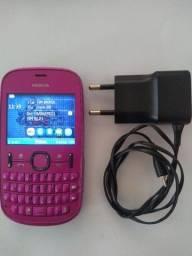 Celular Nokia 200 rosa desbloqeado rm-761