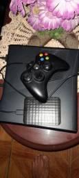 Xbox 360 com HD externo externo 1Tb