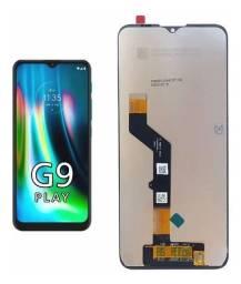 Display Frontal Tela Touch Lcd Moto G9 Play Xt2083 Ou Xt2081