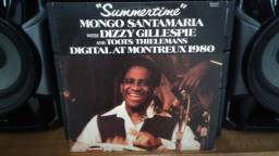 Lp Summertime - Mongo Santamaria With Dizzy Gillespie