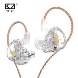 Fone KZ Edx / Cristal ( Novo - Lacrado)