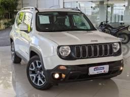 Jeep Renegade 1.8 Flex Longitude Automático 2019 Branco!
