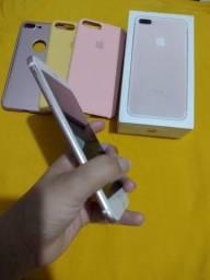 Título do anúncio: iPhone 7 plus rose