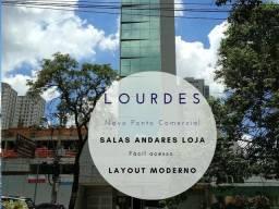Título do anúncio: Belo Horizonte - Conjunto Comercial/Sala - Lourdes