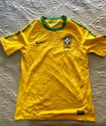 Camisa Oficial Nike (16 anos): Seleção Brasil