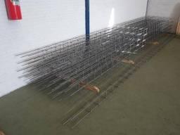 Título do anúncio: 8 vigas de ferro 5/16 com 6 metros