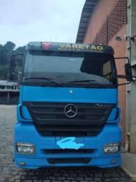 MB Axor 2540 ano 2010 com carreta 220,000 reais