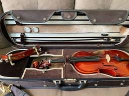 Violino Teodomiro Mendes de Carvalho ano 2015 Num.447