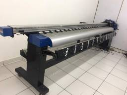 Impressora ampla traga