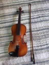 Violino alemão restaurado pelo luthier Paulo Tavares