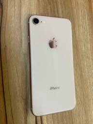 iPhone 8 rose 64 gb (Uberaba )