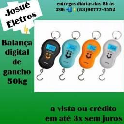 Título do anúncio: Balança digital de gancho 50kg/atacado e varejo entrega a domicílio Jp e região
