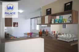 Apartamento com 3 dormitórios à venda, 70 m² por R$ 269.000,00 - Dois Córregos - Piracicab