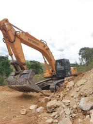 Escavadeira Hyunday 360LC-7 - 7 mil horas - 2010 opcional concha graniteira