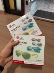 Óculos 3D TV LG AG-F315