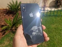 iPhone X 256GB Novinho Completo Caixa e Acessórios Originais