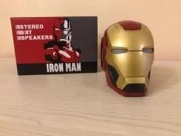 Caixa Som Homem de Ferro Bluetooth - Até 12x Com Frete Grátis - SP