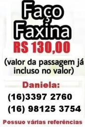 Faxina r$ 130,00