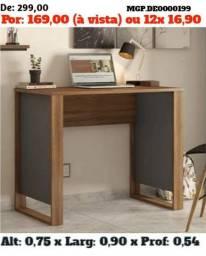 Título do anúncio: Mesa de escritorio simples - Escrivaninha - Direto da Fabrica