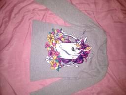 Roupa infantil (blusa de frio fina)