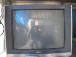 """Tv semp toshiba 21"""" com garantia"""