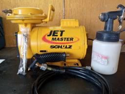 VENDO OU TROCO Compressor Schultz mod.Jet Master 110/220v- USADO UMA UNICA VEZ!!!