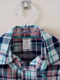 Camisas bebê 9 meses