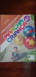 Livro Marcha Criança Caligrafia com ortografia e gramática 4 ano