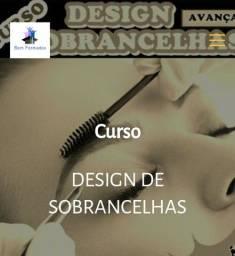 Curso DESIGN DE SOBRANCELHAS PROFISSIONAL.