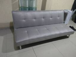 Sofá cama reclinável 3 lugares
