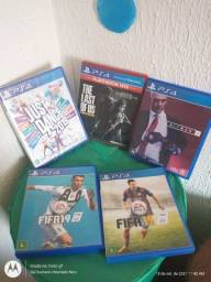 Título do anúncio: VENDO jogos de PS4