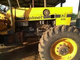 Trator Valmet 128. 4x4