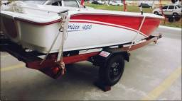 Carreta rodoviária para barco